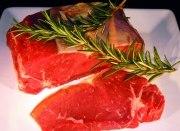 Rumpsteak vom Hohenlohener Weiderind ,,dry aged beef′′