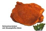 Schweinerückensteak mit Steakpfeffer-Note